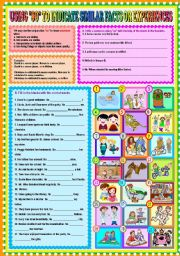 English Worksheet: Using
