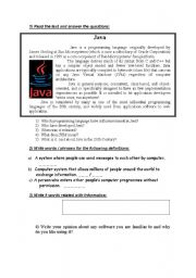 English Worksheet: Test based on technical English