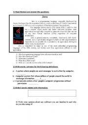 English Worksheet: Test based on technical English