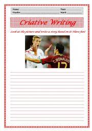 English Worksheets: Criative Writing