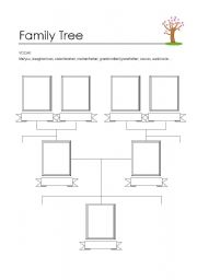 Worksheet Blank Family Tree Worksheet blank family tree worksheet