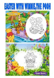 Easter with Winnie, the Pooh (1st Set)