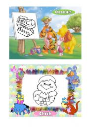 Easter with Winnie, the Pooh (2nd Set)
