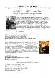 Reading CSI Miami vs House MD