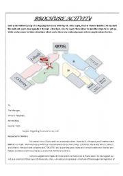 English Worksheets: Brochure Activity