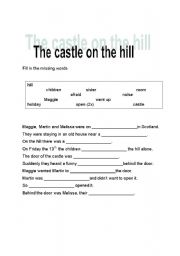 English Worksheets: The castle on the hill