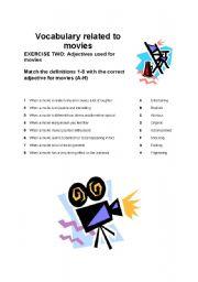 Cinema Adjectives 28