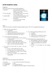 English Worksheets: Dragonfly Movie