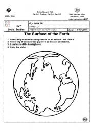 Worksheets Earth Worksheets english teaching worksheets the earth earth
