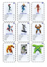 Top Trump Cards - Marvel Heroes 2-3