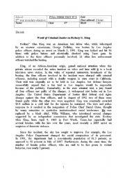 English Worksheet: Full Term Test n°2