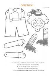 Clown - Carnival - Body Parts