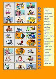 Daily Activities Bingo
