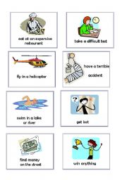 English Worksheets: Have you ever...? pair-work/mini-talk