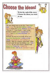 English Worksheets: Choose the ideas