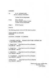 English Worksheets: ECMO
