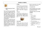 English Worksheets: Fish & Chips