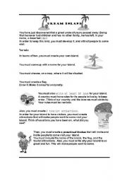 English Worksheets: Dream Island