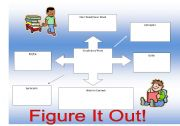 English Worksheets: Figure it Out
