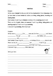 English Worksheets: Introduce oneself!