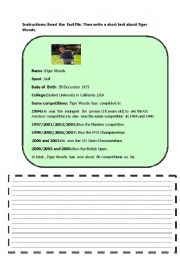 English Worksheets: FACT FILE