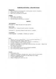English Worksheets: Opinion writing