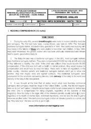 2nd term test (3rd grade)