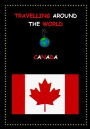 English Worksheet: CANADA lesson and worksheets
