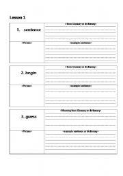 English Worksheets: Blending Sounds