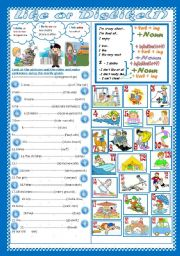 English Worksheets: Like or Dislike(part1) (2pages +Key )