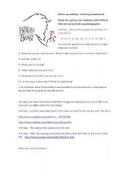 English worksheet: Beauty and the Beast - Lesson plan
