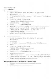 Collection Reasons For Seasons Worksheet Photos - Studioxcess