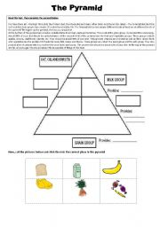 the pyramid the pyramid of food level elementary age 13 14