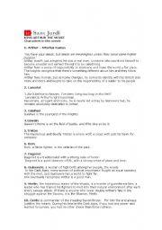 English Worksheet: Tasks on King Arthur movie (2004)