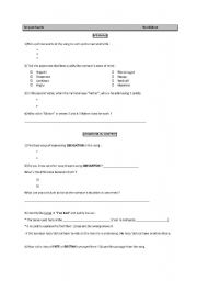 English Worksheets: In your hands WORKSHEET