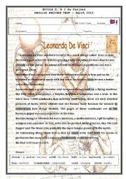 Test - Leonardo da Vinci