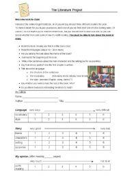 English Worksheets: Choosing a book