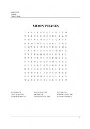 moon phases worksheet pdf new calendar template site. Black Bedroom Furniture Sets. Home Design Ideas