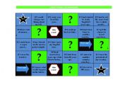 English Worksheet: Conditionals Board game - B/W version included