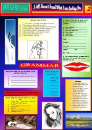 English Worksheets: I STILL HAVEN´T FOUND WHAT I´M LOOKING FOR - U2 - PART 02