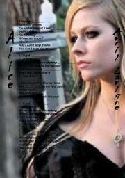 English Worksheets: Alice Avril Lavigne