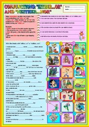 English Worksheets: CONJUNCTION :