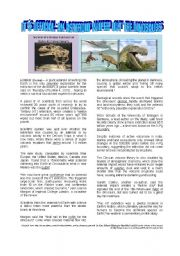 English Worksheets: AN ASTEROID WIPED OUT THE DINOSAURS! IT�S OFFICIAL NOW!