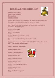 English Worksheet: Funny Rol-playing