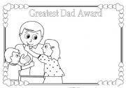 English Worksheets: Father´s day