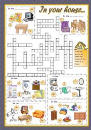 English Worksheet: IN YOUR HOUSE... (2)