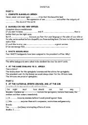 English Worksheets: INVICTUS MOVIE