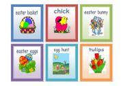 English Worksheet: Easter set 2 - flashcards