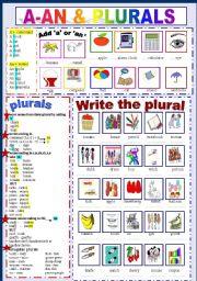 A - An & Plurals