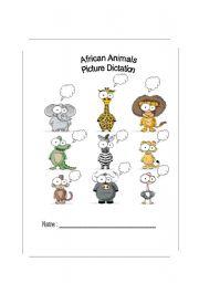English Worksheets: Wild Africa